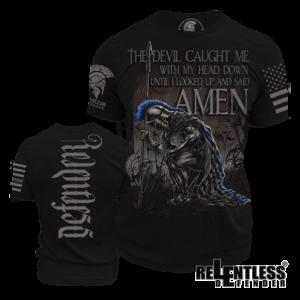 Spartan_VS_Devil_Shirt_police-t-shirts