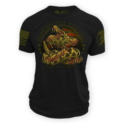 Defen until the end Shirt