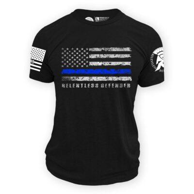 Thin Blue Line Flag shirt
