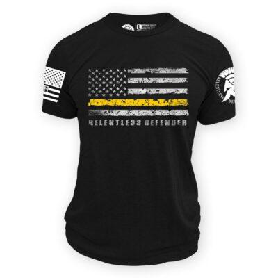 Thin Gold Line Flag Shirt