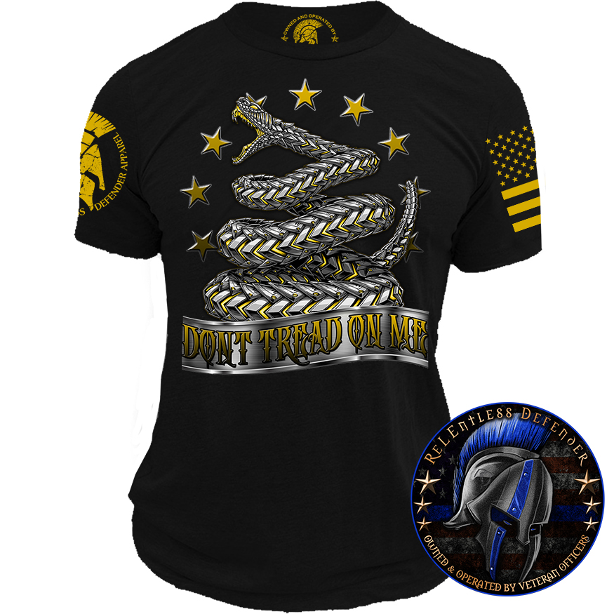Dont Tread On Me Shirt >> Armored Don T Tread On Me