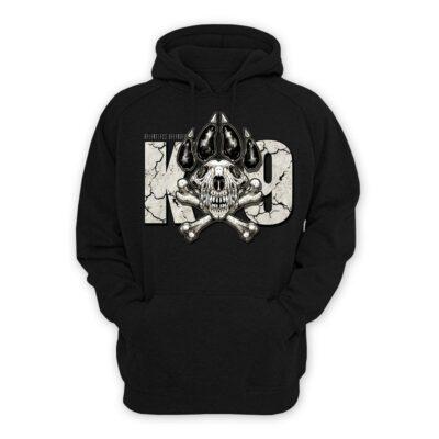 K9 Skull Hoodie
