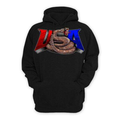 USA Snake Hoodie