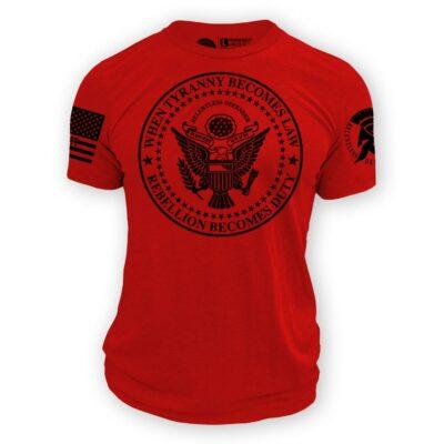 Rebellion Becomes Duty Shirt