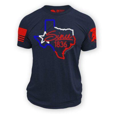 Texas Neon Sign Tee Shirt