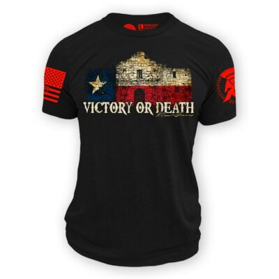 Victory or Death Shirt from Relentless Defender