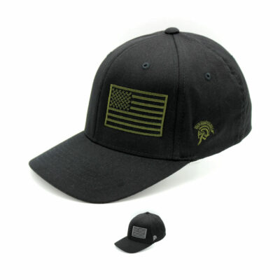 Subdued American Flag Hats