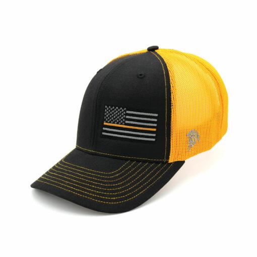 Thin Gold Line Flag Hat