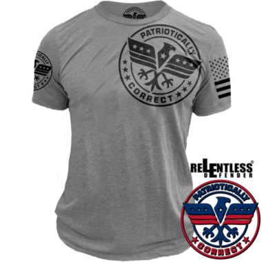 Relentless-Defender-Patriotically_Logo_Shirt_Grey